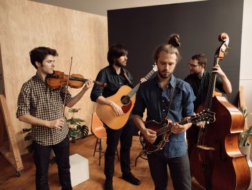 Sunday Bluegrass Show with the Jacob Jolliff Band