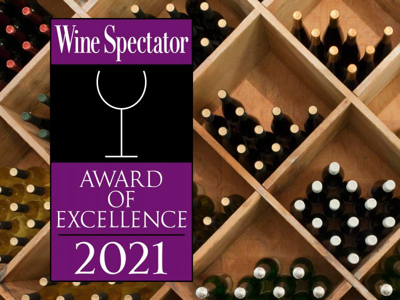 2021 Wine Spectator's Award of Excellence