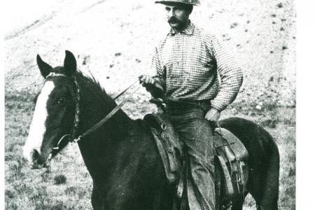 homesteader Charles Wort