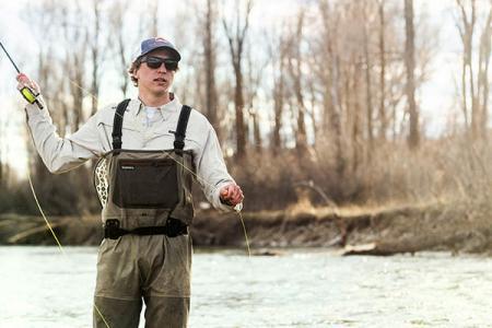 Angler in Jackson